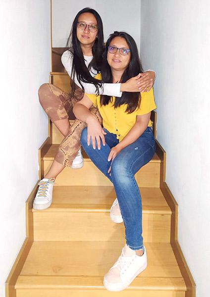 Somo Sandra y Jessica de San Lanero