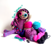 Kit Cómo hacer una catrina a crochet