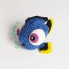 Dory tejida a crochet